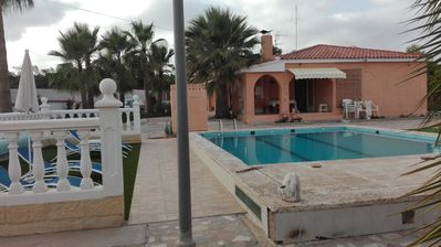 Photo for Finca on 2500m² with pool for the large family or group up to 12 people + x