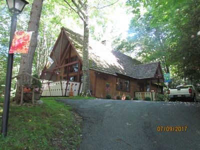 Chalet during Summer