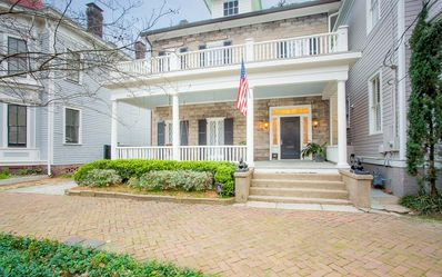 Photo for Stay with Lucky Savannah: Chic 3 bedroom home w/ courtyard & private parking!