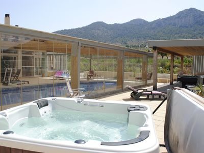 Photo for LAST MINUTE VILLA WITH COVERED SWIMMING POOL