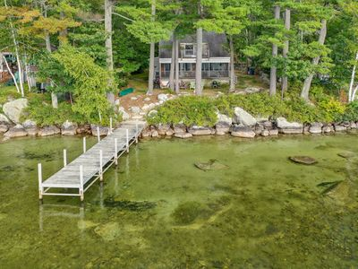 Pet-friendly waterfront cottage, relax with stunning sunsets