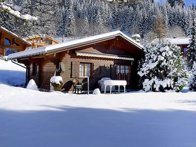 Photo for Vacation home Chalet Lorila in Villars - 5 persons, 2 bedrooms