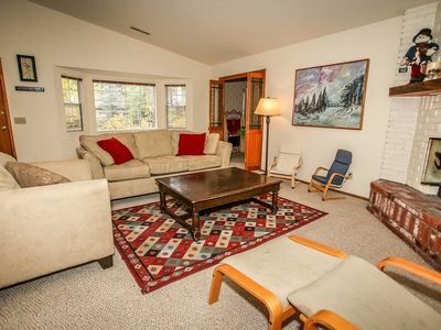 Photo for House in Big Bear Lake with Parking, Internet, Balcony (983518)