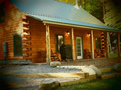 Photo for Adirondack Waterfalls and Cabin In Woods Bran New