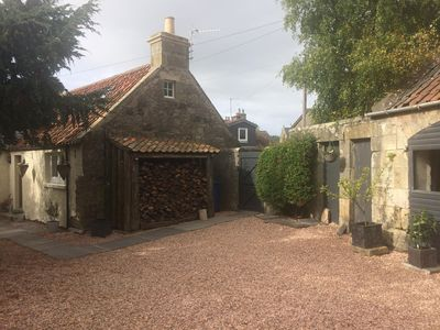 Photo for Carters Cottage is a 200 year old fully refurbished stone built weavers cottage.
