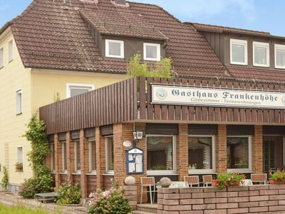 Photo for Bright apartment in small hotel in Franconian Switzerland with south-facing balcony