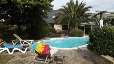 Photo for House with heated pool for 8 people
