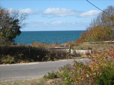 Photo for Waterview, 4 BR, 100 Feet from Private Eastham Bayside Beach!