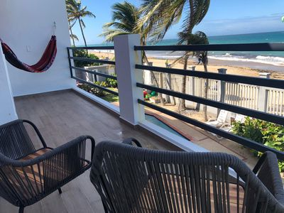 Photo for Fully renovated beachfront home with a pool in Ocean Park
