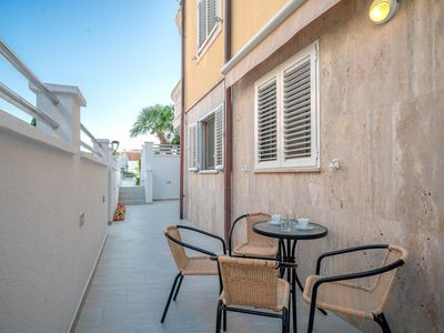 Photo for One bedroom apartment with terrace Vodice (A-16804-d)