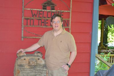 """Eddie says """"Welcome . you will love the cabin as much as out family does""""."""
