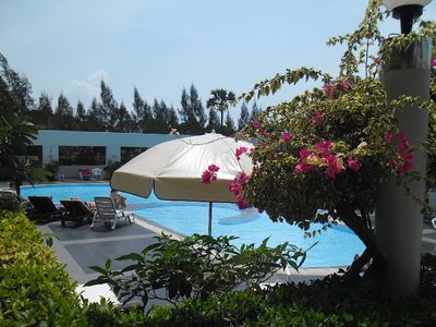 Photo for Baobas Pink Apartment, Wifi, AC, Swimming Pool
