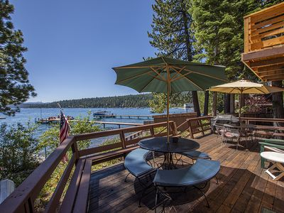 Photo for Comfortable 4br/2ba home with pier and buoy