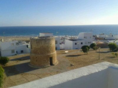 Photo for Conil De La Frontera: WIFI APARTMENT WITH MAGNIFICENT SEA VIEWS