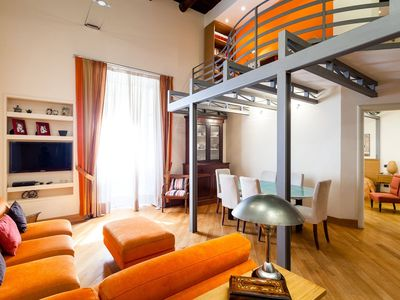 Photo for Casa Rossella, nice 2 bedroom apartment in Sorrento center