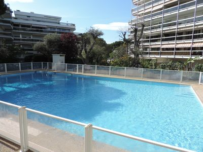 Photo for Apartment 10 Mins Walk To The Beach! With Communal Pool And Wrap-Around Terrace
