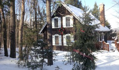 Photo for VICTORIA LONG WEEKEND SPECIAL 20% OFF! «Gingerbread house» with hot tub