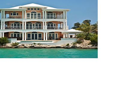 Photo for Spectacular Oceanfront Home on Great Exuma, Bahamas!