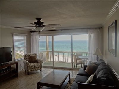 Photo for Renovated. Amazing View. Free Beach Chair/Umbrella Service. Mistral#9