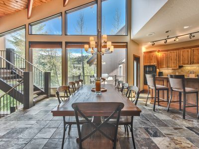 Photo for Deer Valley. Mountain Contemporary Furnishings. Private Hot tub.