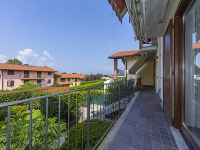 Photo for 1BR Apartment Vacation Rental in Travedona Monate