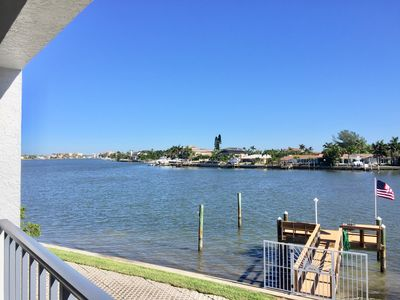 Photo for Perfect Florida Getaway! Beautiful Waterfront Townhome, Steps to Beach!