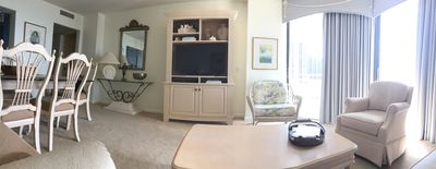 """Living room With new 40"""" TV"""
