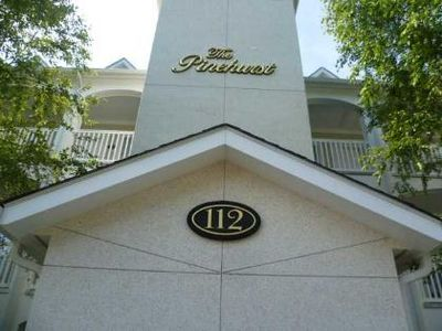 building 112 - Pinehurst condo building