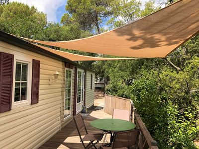 Photo for CALM CAMPING VAR FRENCH RIVIERA WITH SWIMMING POOL.