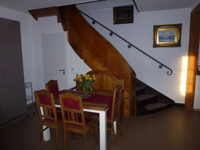 """Photo for lovingly furnished. Holiday apartment """"Moselblick"""" directly in the Moselle."""