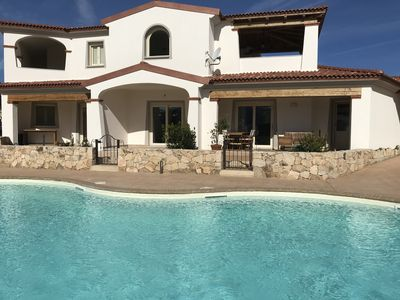 Photo for Limpiddu residence with swimming pool - Brand new, all comforts - Sea at 900mt
