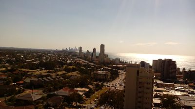 View to Broadbeach & Surfers Paradise