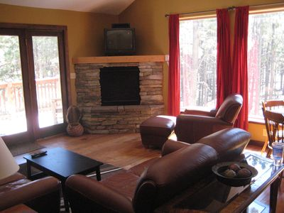 Photo for Awesome Mountain Getaway Just 15 minutes from Angel Fire, in the forest!