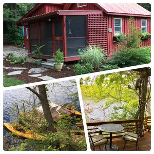"Photo for Goose Landing Cottage by the lake with ""Hot Tub"" near Bard College"