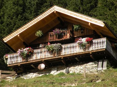 Photo for Almhütte - Alpine holiday away from the stress in the middle of nature!