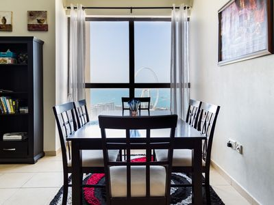 Photo for 2 Bedroom Full Sea View  JBR