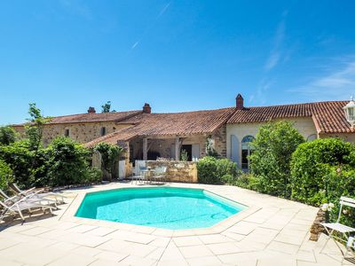 Photo for Holiday Home in Saint-Laurent-de-la-Salle with Pool