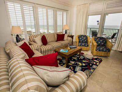 Photo for Spectacular Gulf Views from Almost Every Room ~ Spacious Gulf Front Condo in Destin!