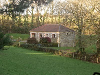 Photo for Excellent converted barn in historic castle of Caerhays on the South Cornish Coast