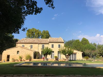 Photo for Beautiful Bergerie with large swimming pool close to Uzès