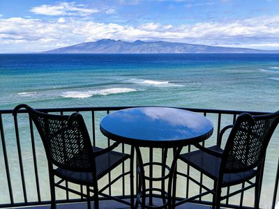 Photo for Luxury One Bedroom Directly Oceanfront at the Valley Isle