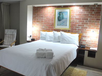 Photo for The best option to stay in Town !   Right in the heart of the Hotel district