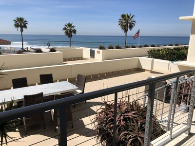 Photo for Luxury Oceanfront 2BR/2BA Coronado Shores condo w/ large terrace La Sierra Bldg