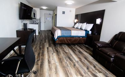 Photo for SP-Inver Grove Heights - Deluxe 1 King Suite NS