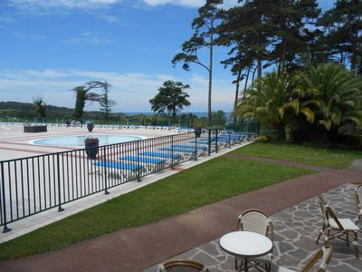 Photo for hendaye - urrugne - cornice Basque -bel apartement - from 3 to 14/8 1970 €