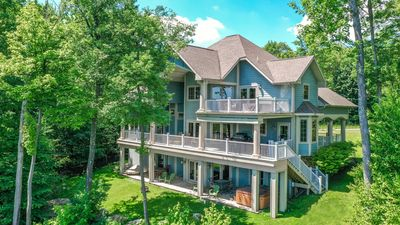 Photo for Enjoy amazing lake views & lots of amenities at this stunning chalet!