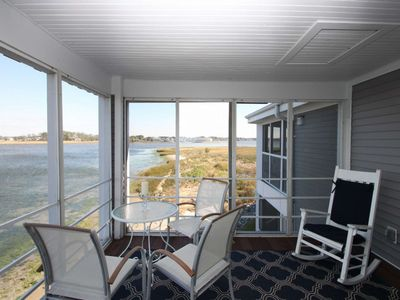 Photo for Breathtaking Bay Views! Pool, 2 Kayaks. Immaculate 2nd Floor Condo w/Free Golf, Water Park and More!