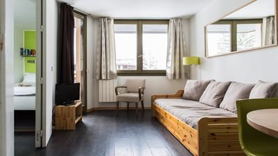Photo for Chamois Blanc 308 - Newly Renovated 1 Bed Apartment Central Chamonix