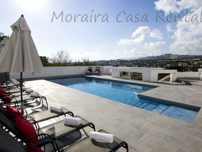 Photo for LARGE VILLA SLEEPS 11,PRIVATE POOL,PANORAMIC VIEWS,AIR CON, WIFI, UK TV.