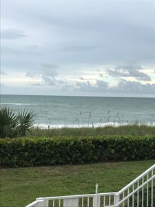 Photo for Beach front property step to beach ground floor condo-one month minimum